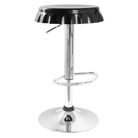 Best Master Furniture Bottle Cap Adjustable Height Bar Stool, Set of 2, Multiple (Best Indoor Palms For Low Light)