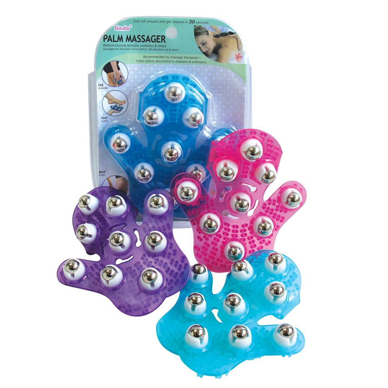 Lindo's Palm Massager -Purple