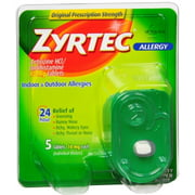 Zyrtec Allergy 10 mg Tablets 5 ea (Pack of 2)