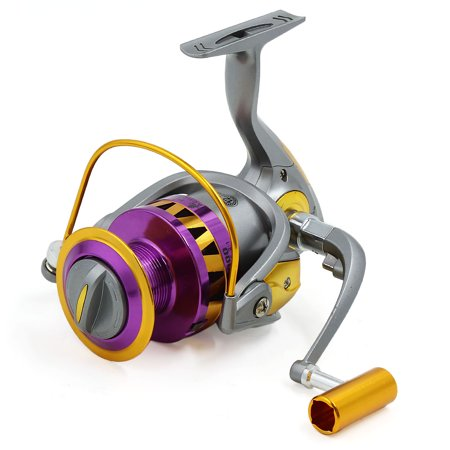 13BB 5.5:1 Spinning Reels Freshwater Saltwater Left/Right Fishing Reel HB6000 - image 8 de 8
