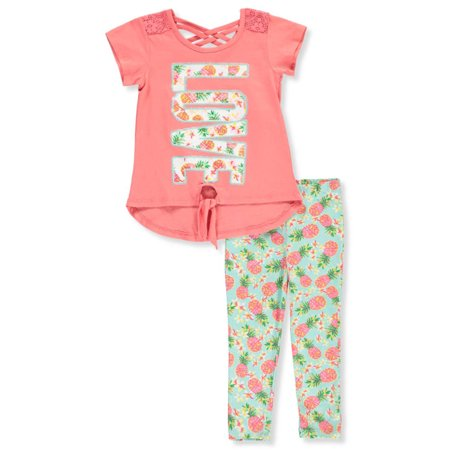 Real Love Girls' 2-Piece Leggings Set