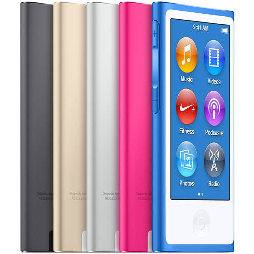 Refurbished Apple iPod Nano 7th Generation 16GB Silver MD480E/A