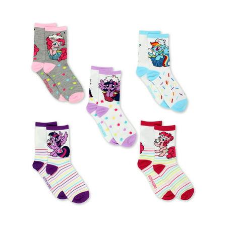 My Little Pony Shoes For Girls (My Little Pony Girls 5 pack Crew Socks)