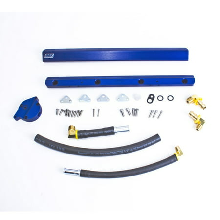 BBK 86-93 Mustang 5.0 High Flow Billet Aluminum Fuel Rail Kit