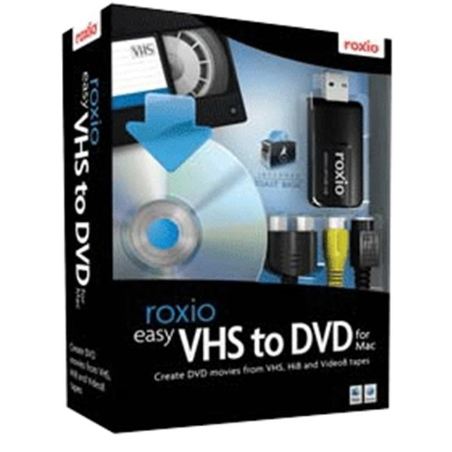 Roxio Easy VHS to DVD Mac DVD .- Software
