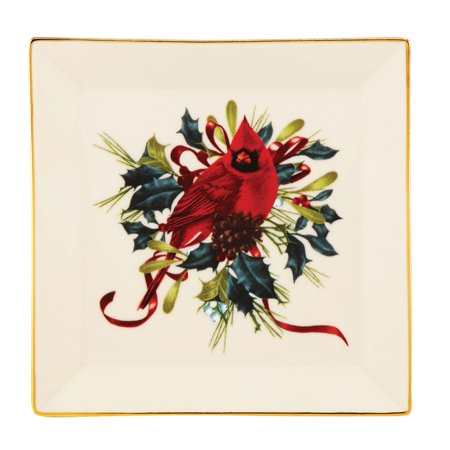 Lenox winter greetings square dish walmart lenox winter greetings square dish m4hsunfo