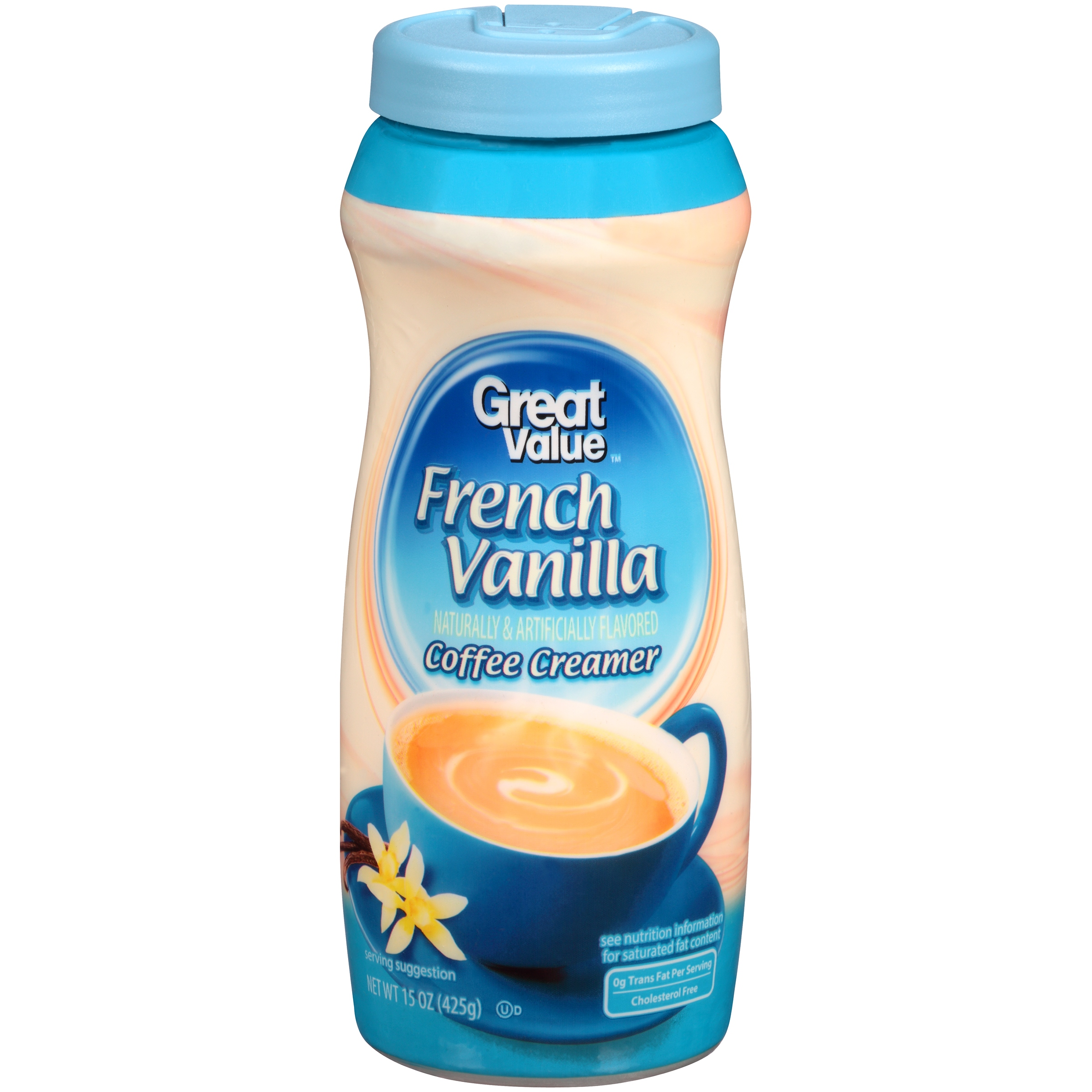 Great Value Coffee Creamer French Vanilla 15 Oz