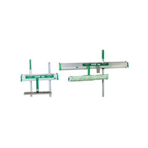 Unger Hold Up Aluminum Tool Rack in Green / Silver