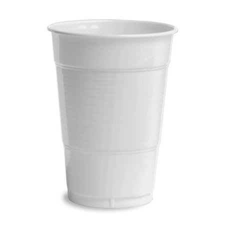 White 16 Oz Round Dish - 20CT 16OZ WHT Plas Cup, Creative Converting White 16 oz Plastic Cups - 20 ct By Creative Converting Ship from US