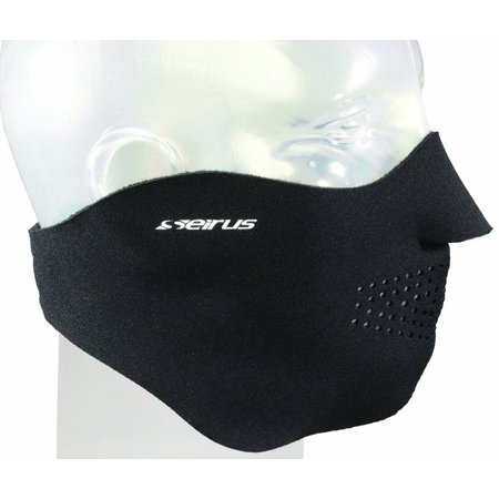 Comfort Masque (Black, Small), Adjustable Velcro Closure By Seirus from USA