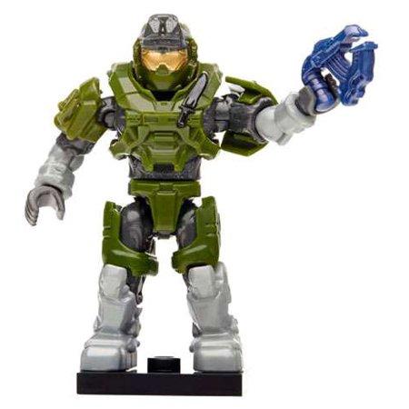 Spartan Plasma Pistol - Mega Bloks Halo Charlie Series Grenadier Spartan W/ Plasma Pistol Minifigure [Green] [No Packaging]