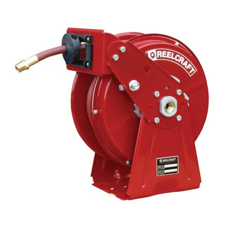 Reelcraft DP5835 OLP 0.5 in. x 35 ft. 300 PSI Air & Water with Hose Reel, Red - image 1 de 1