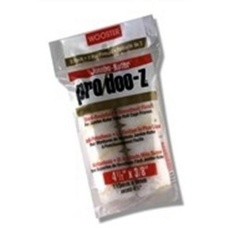 WOOSTER RR303 4.5 in. Jumbo Koter Pro Doo-Z 0.5 in. Nap Roller Cover, 2 Pack