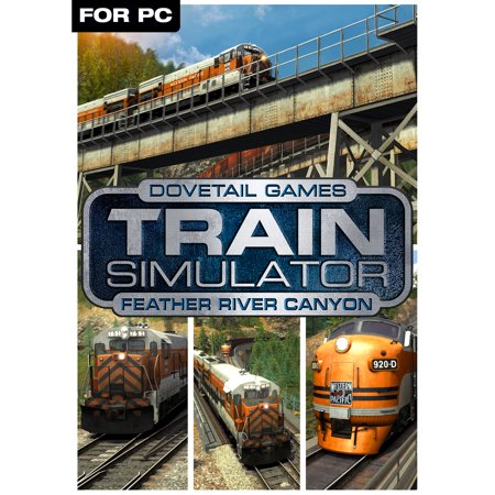 Train Simulator Add-On - Feather River Canyon DLC (PC)(Digital Download)