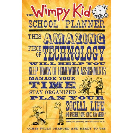 The wimpy kid school planner walmart the wimpy kid school planner solutioingenieria Image collections