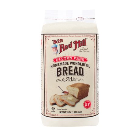 Bob's Red Mill Gluten Free Homemade Wonderful Bread Mix, 16 (Best Homemade Chex Party Mix)