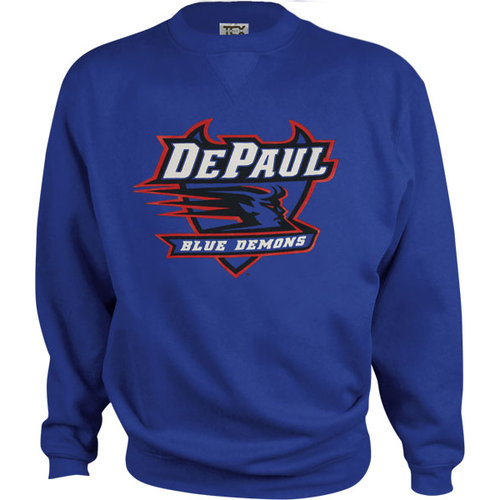 NCAA - DePaul Blue Demons Kids/Youth Perennial Crewneck Sweatshirt