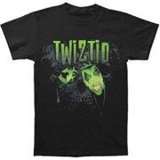 Rockabilia Twiztid Green Face Logo T-shirt Medium