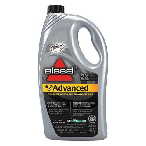 BISSELL COMMERCIAL 49G5-1 Carpet Cleaner,52oz,Bottle,9 to 9.8 pH G1685997