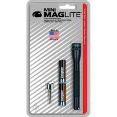 Maglite M3A986 Mini-Mag , Purple, 2 AAA Batteries, Blister Pack