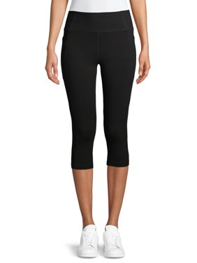 Athletic Works Women's Capris with Side Pockets