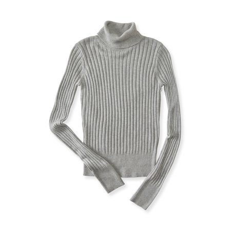 Aeropostale Juniors Ribbed Turtleneck Knit Sweater