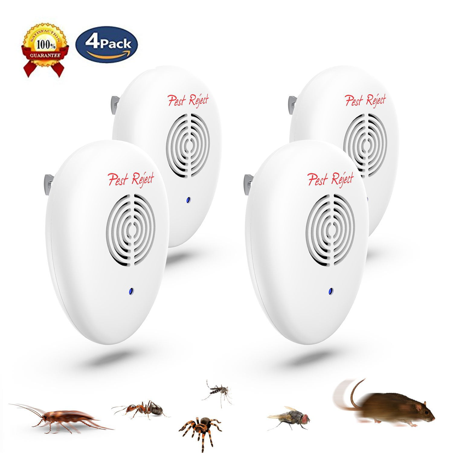 Home Electronic Pest Repeller Ultrasonic Rejector for Mouse Bug Mosquito Insect