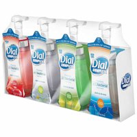Dial Complete Antibacterial Foam Hand Soap, Variety Pack, 7.5 fl. oz., 4-count