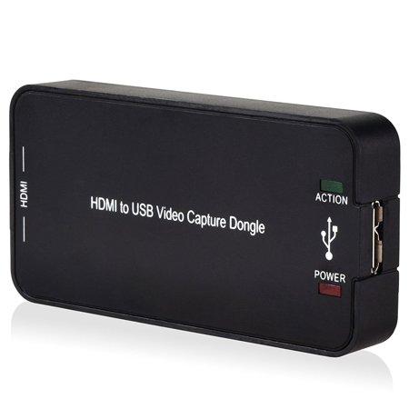 DigitNow! USB 3.0 HDMI 1080P Video Record Capture Box PC HD Media Player for Windows7, 8, 10