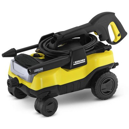 Karcher K3 Follow-Me Electric Power Pressure Washer with 4 Wheels, 1800 PSI, 1.3 GPM