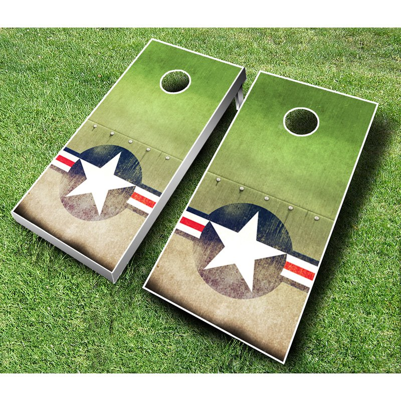 Air Force Cornhole Set with Bags