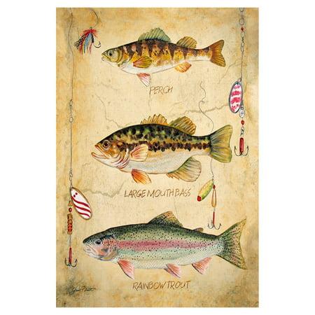 Toland Home Garden Fresh Fish Flag ()