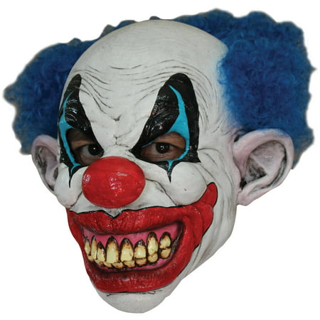 Puddles The Clown Latex Mask Adult Halloween Accessory - Latex Clown