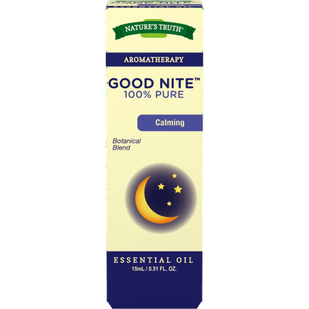 Nature's Truth Good Nite Aromatherapy Essential Oil Blend Revitalizing Essential Oil Blend