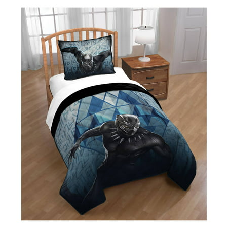 Marvel Black Panther Blue Tribe Twin/Full Quilt