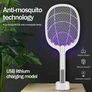 Prime Star+ Handheld Home Electric Fly Mosquito Swatter Racket Bug Insects Killer