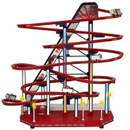 Mr. Christmas Animated Musical LED 1939 World's Fair Roller Coaster Decoration #79813