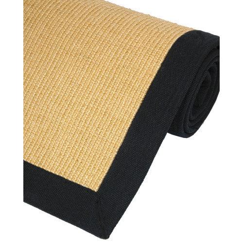 Oriental Furniture Sisal Honey Area Rug