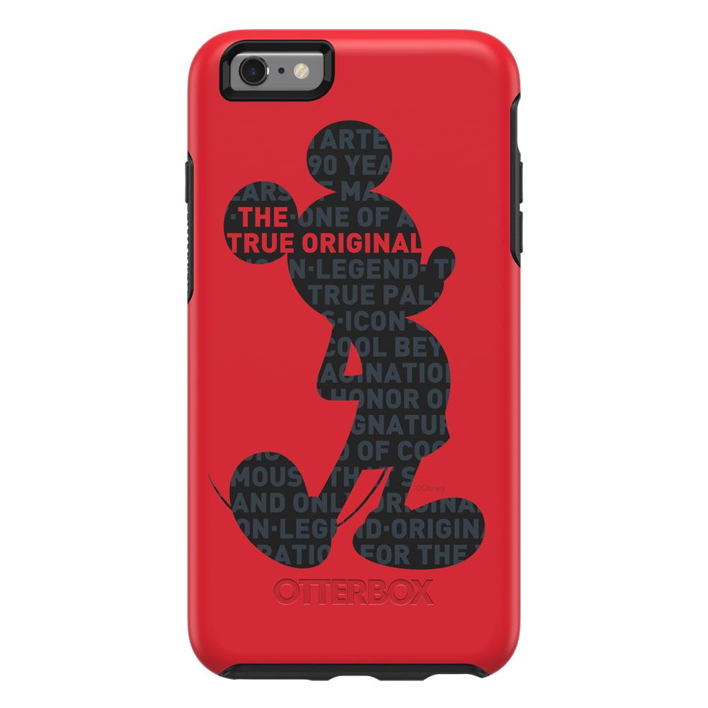 OtterBox Symmetry Series Mickey's 90th Case for iPhone 6 Plus/6s Plus, True Original - Walmart.com