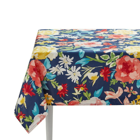"The Pioneer Woman Fiona Floral Tablecloth, 60"" x 102"""