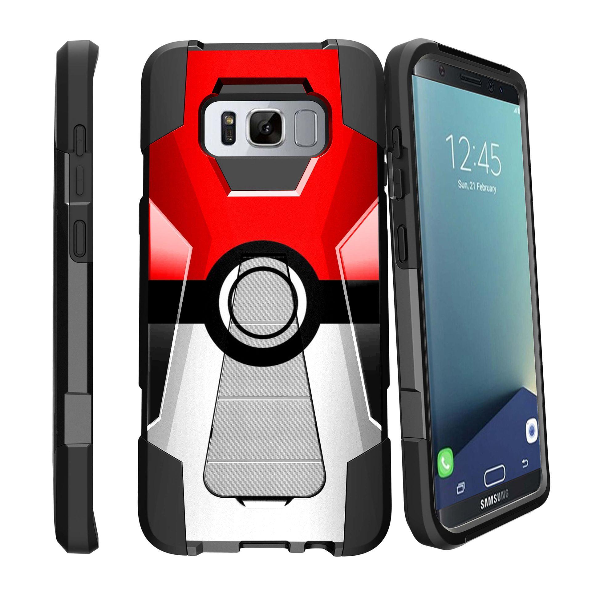 Case for Samsung Galaxy S8 PLUS version | S8 PLUS version Hybrid Case [ Shock Fusion ] Hybrid Layers and Kickstand Case Unique Collection