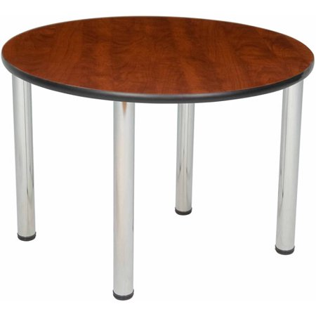 Regency Seating 36 Quot Round Table With Chrome Post Legs