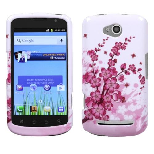 INSTEN Spring Flowers Phone Case for COOLPAD: 5860E (Quattro 4G)