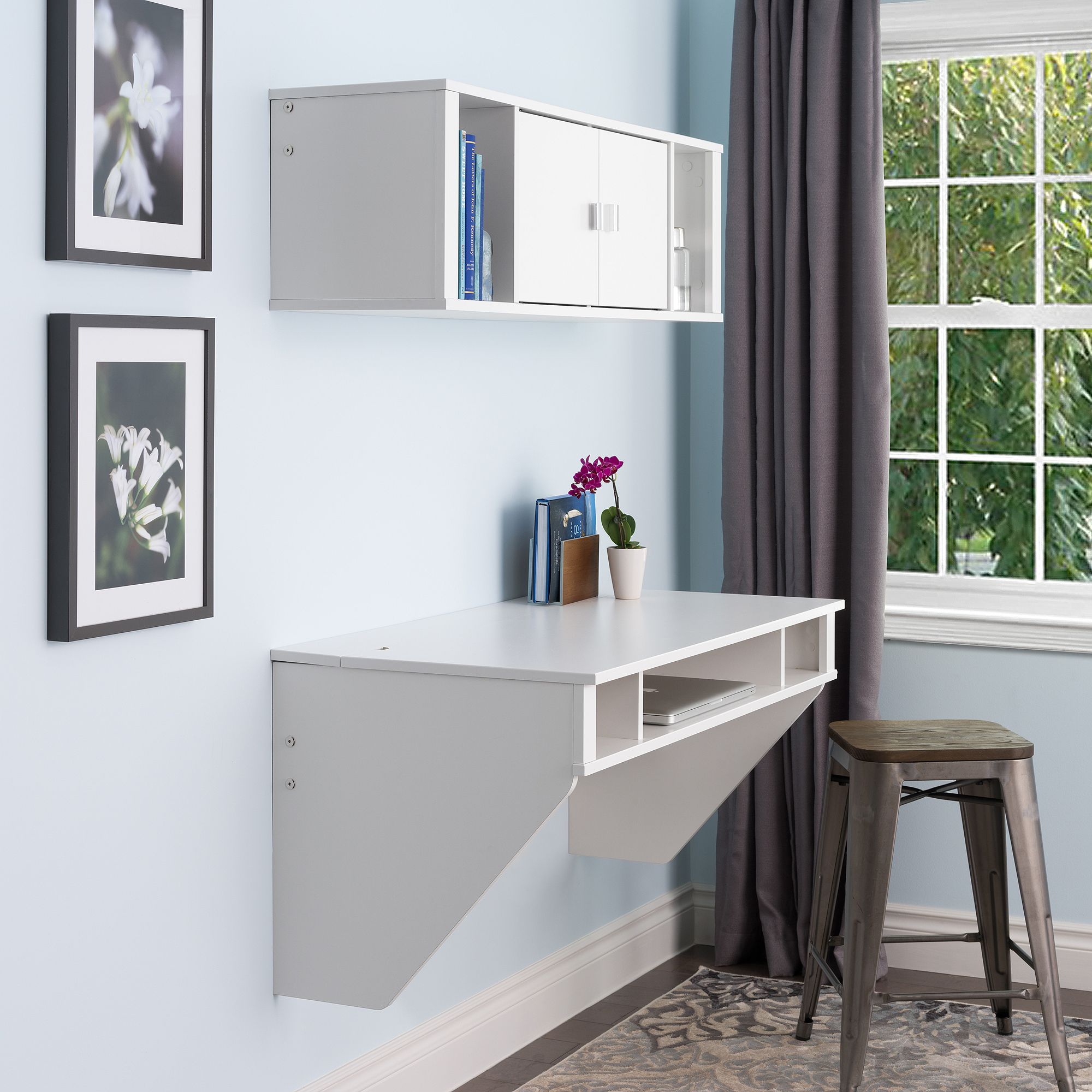 Wall Hanging Desk prepac wall hanging desk - walmart