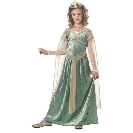 Girls Queen Guinevere Medieval Halloween Costume - Medieval Stockade