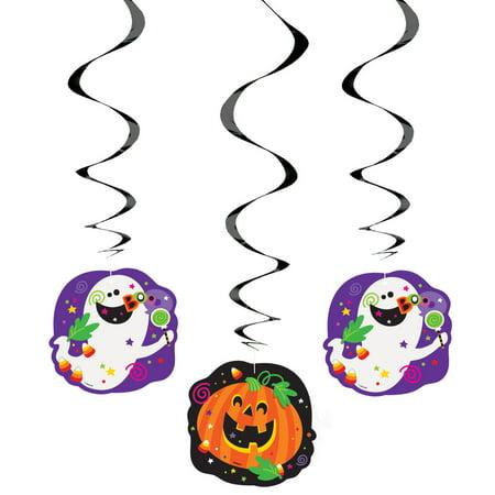 "26"" Hanging Happy Halloween Decorations, 3pk"