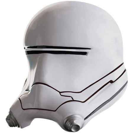 Star Wars: The Force Awakens Mens Flametrooper Half Helmet Halloween Accessory, One Size