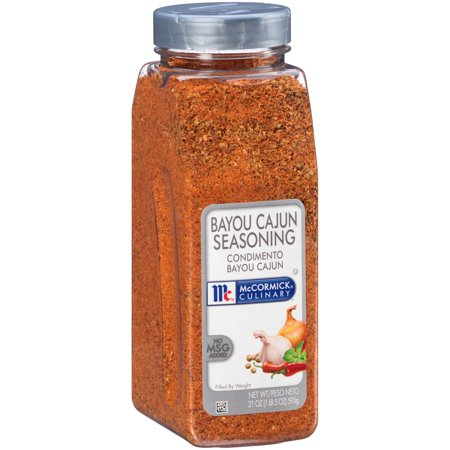 McCormick Culinary Bayou Cajun Seasoning, 21 oz