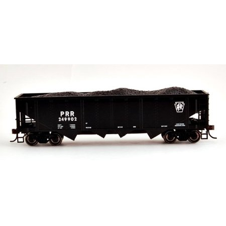 Bachmann HO Scale Train 40' Quad Hopper Pennsylvania Black 17601