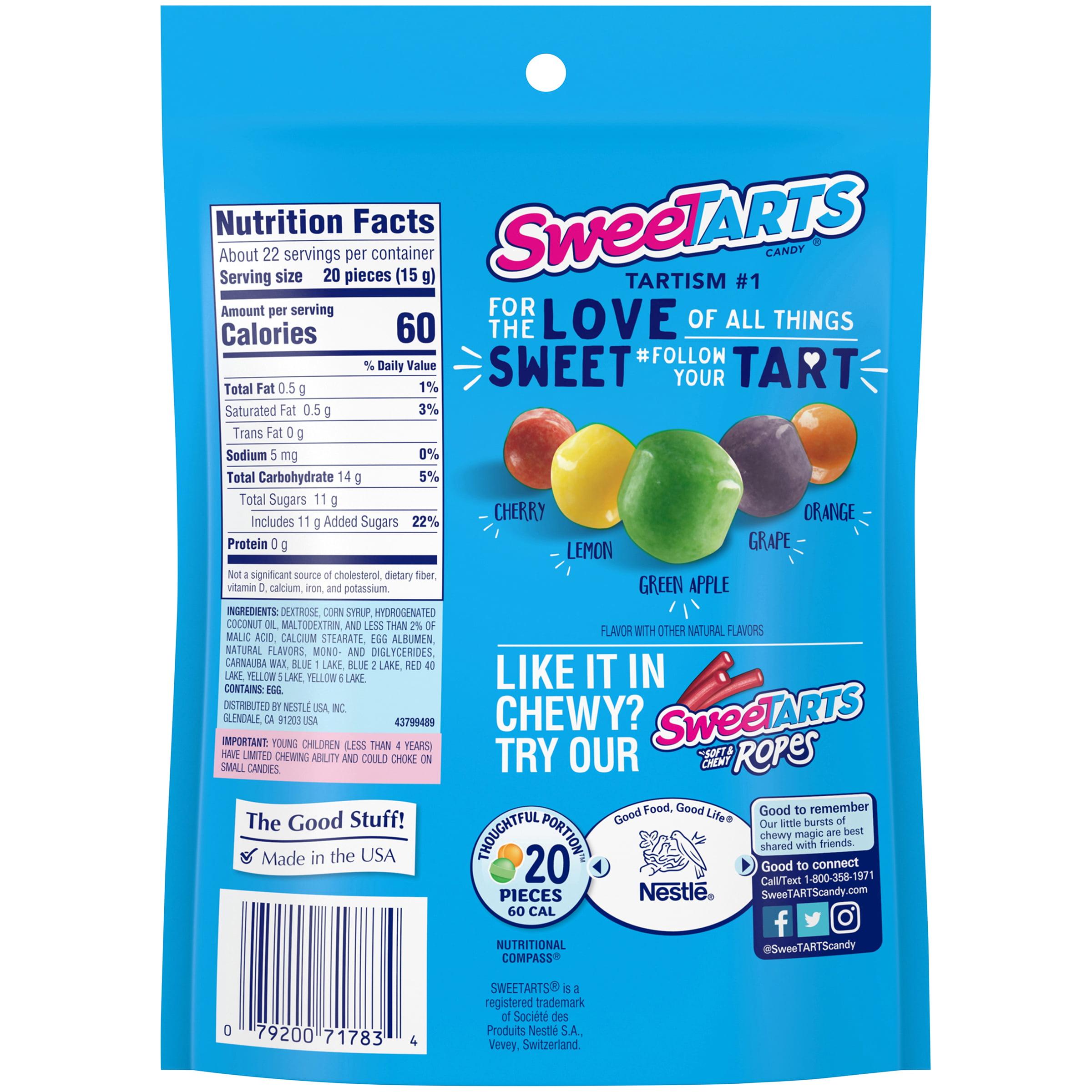 SweeTARTS Mini Chewy Candy 12 oz. Stand-Up Bag - Walmart.com